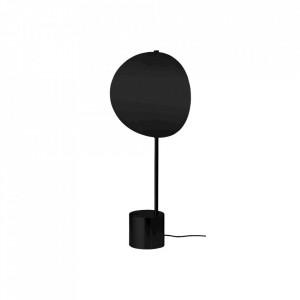 Veioza neagra din metal cu LED 60 cm Callas Table Black Bolia