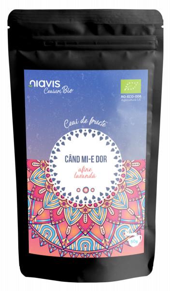 "Ceai Ecologic/BIO ""Cand Mi-e Dor"" 50g"