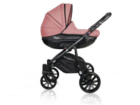 Carucior copii 3 in 1 MyKids Basic Soft Powder Pink Gel