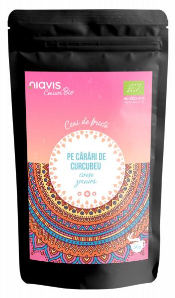 """Ceai Ecologic/BIO """"Pe Carari de Curcubeu"""" 50g"""