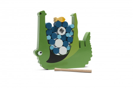 Joc de echilibru Crocodil