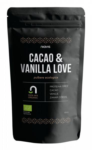 Cacao & Vanilla Love - Mix ecologic 125g