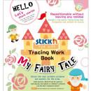 """Carte educativa Stickn Tracing Work Book - My Fairy Tale"""""""
