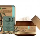 CBD CANNABIDIOL Crema de fata hidratanta si calmanta cu canabidiol CBD din seminte de canepa pentru ten sensibil si uscat 50ml