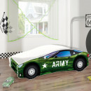 Pat Tineret MyKids Race Car 07 Army-140x70