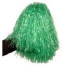 Pom Pom verde pentru majorete. Pom Pom pentru majorete