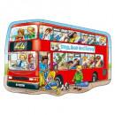 Puzzle de podea Autobuzul (15 piese) BIG BUS