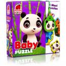 Puzzle Maxi Bebelusi Animale de la Zoo, 13 piese Roter Kafer RK1210-02