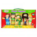 Set 5 Marionete pentru deget Peter Pan Fiesta Crafts FCT-2377