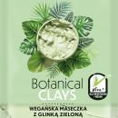 BOTANICAL CLAYS Masca Vegana de Fata cu Argila Verde 8g