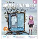 "Carte creativa Stickn My Magic Wardrobe - iarna"""