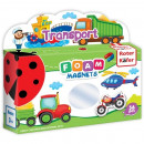 Joc educativ Lumea in Magneti - Mijloace de Transport Roter Kafer RK3030-02