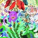 Puzzle Djeco tigrii curcubeu