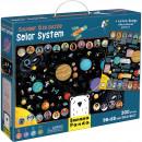 Puzzle Sistem Solar Suuuper Mare, 300 piese, 98x68 cm Banana Panda BP349110