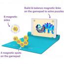Set de constructie magnetic Plugo Link - Jucarie educativa bazata pe Realitate Augmentata Shifu Shifu019