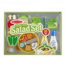 Set de joaca din lemn Salate delicioase Melissa and Doug
