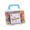 Set Mini stampile si tusiera Keycraft KCST18