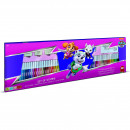 Set pictura 96 piese, 4 stampile, tus, 60 carioci, 30 stickere si caiet cu activitati Paw Patrol Girl Multiprint MP18913