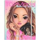 Carte de colorat Top Model Make-up Studio Depesche PT11266