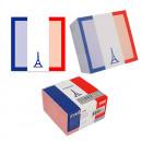"Cub notes autoadeziv 70 x 70 mm, 400 file, Stickn France - alb"""
