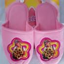 Papuci pentru copii model fetita cu flori