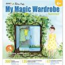 "Carte creativa Stickn My Magic Wardrobe - vara"""