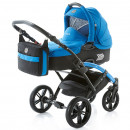 Carucior copii 2 in 1 cu landou Knorr-Baby Volkswagen Polo Albastru