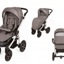 Carucior copii 3 in 1 MyKids Baby Boat - Bb/223 Gray-Green
