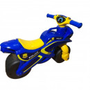 Motocicleta de impins MyKids Police Music 0139/57 Albastru Galben