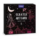 Set Scratch art Zana, 15 piese