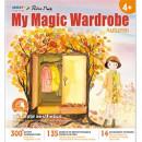 "Carte creativa Stickn My Magic Wardrobe - toamna"""