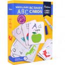 Cartonase Scrie si Sterge ABC
