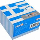 "Cub notes autoadeziv 70 x 70 mm, 400 file, Stickn Greece - alb"""
