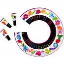Domino de forma circulara - usor de invatat, distractiv de jucat.