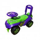 Masinuta de impins MyKids Music 0142/R/02 Verde Violet