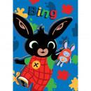 Paturica copii Bing Hoppity Voosh 100 x 140 cm SunCity STN903200