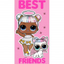 Prosop fata LOL Surprise Best Friends 30x50 cm SunCity CBX191070LOL