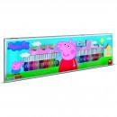 Set pictura 96 piese, 4 stampile, tus, 60 carioci, 30 stickere si caiet cu activitati Peppa Pig Multiprint MP18875