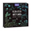 Set Scratch art Animal, 15 piese