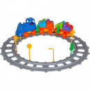 Set Tren 43 piese Magic Blocks Ucar Toys UC72
