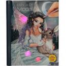 Carte de colorat Fantasy Model Iceprincess cu Muzica si Lumini Depesche PT10727