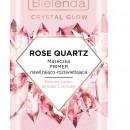 CRYSTAL GLOW ROSE QUARTZ Masca de Fata Hidratanta si Iluminatoare 8g