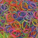 Elastice Rainbow Loom - Jelly Mix-600 buc