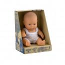 Papusa Baby european baiat Miniland 21cm