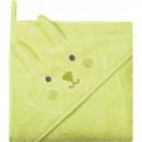 Prosop de baie cu gluga imprimeu animal 80 x 80 cm Womar Zaffiro AN-OZ-80