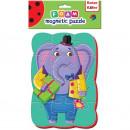 Puzzle magnetic A5 Elefant Roter Kafer RK1302-03