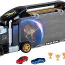 Camion cu rampa de iesire pentru masinute MACK