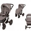 Carucior copii 3 in 1 MyKids Baby Boat - Bb/224 Gray-Blue