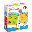 Hai sa ne jucam, Animal Bingo, 24 piese Banana Panda BP33677