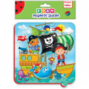 Puzzle magnetic Pirati Roter Kafer RK5010-01